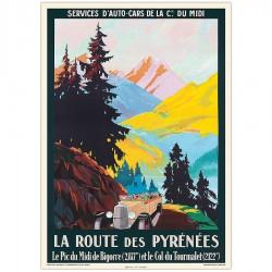 Route des Pyrénées ( noire)