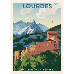 Lourdes , Au coeur des Pyrénées