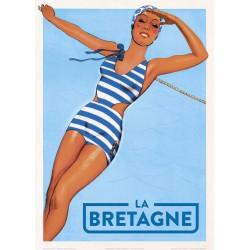 La Bretagne , en  Maillot Bleu