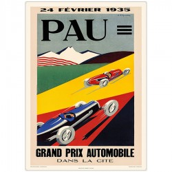 GRAND PRIX DE PAU AUTOMOBILE 1935