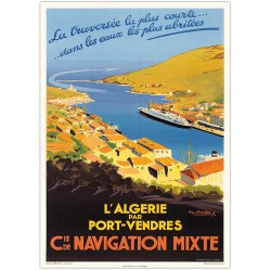 PORT-VENDRES , Compagnie de Navigation Mixte