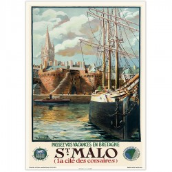 Saint Malo port