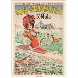 SAINT-MALO , LA REINE DES PLAGES , Grand Casino Municipal