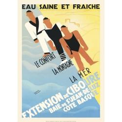 EAU SAINE ET FRAÏCHE , CIBOURE 1928