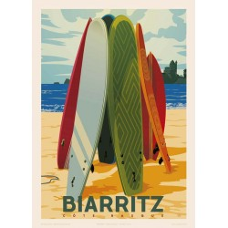 BIARRITZ SURF , Côte basque