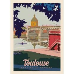 TOULOUSE , QUAI DE LA DAURADE