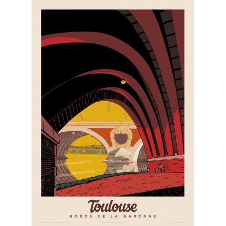 TOULOUSE , Bords de la GARONNE