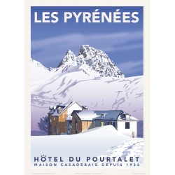 Pyrénées , L'Hôtel du Pourtalet