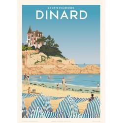 DINARD , La Côte d'émeraude