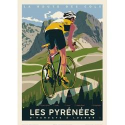 LES PYRENEES - LA ROUTE DES COLS
