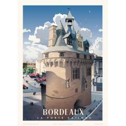 BORDEAUX , la Porte Cailhau