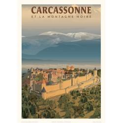 CARCASSONNE , et la Montagne Noire