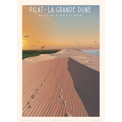 Pilat , la grande Dune , Bassin d'Arcachon