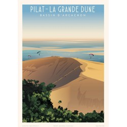 Pilat - La grande Dune , Bassin d'Arcachon