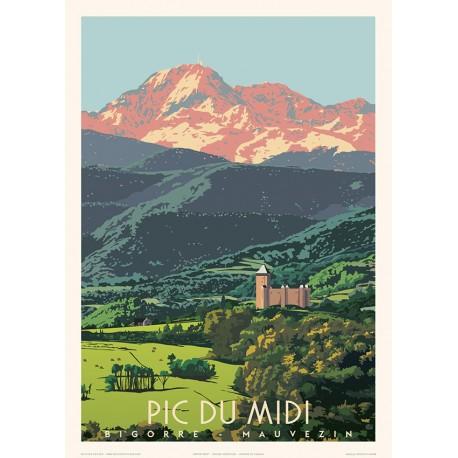 Le Pic du Midi de Bigorre , Mauvezin