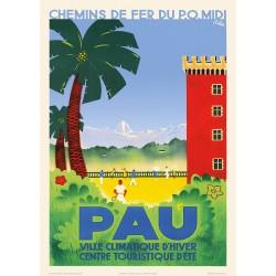 Pau , les palmiers