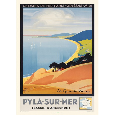 PYLA-SUR-MER , BASSIN D'ARCACHON , La Grande Dune