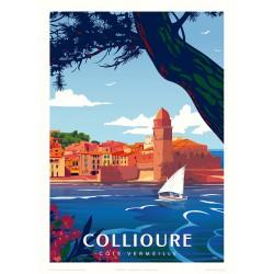 COLLIOURE , La Côte Vermeille