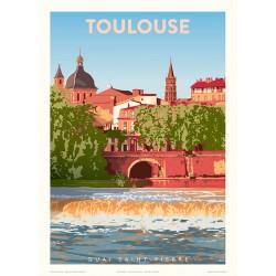 Toulouse , Quai Saint Pierre