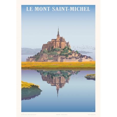 Affiche Mont Saint Michel